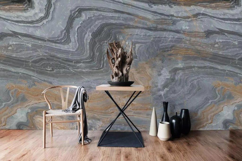 Натуральный камень для внутренней отделки стен купить фото